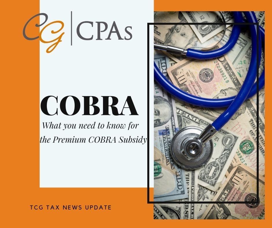 COBRA Subsidy