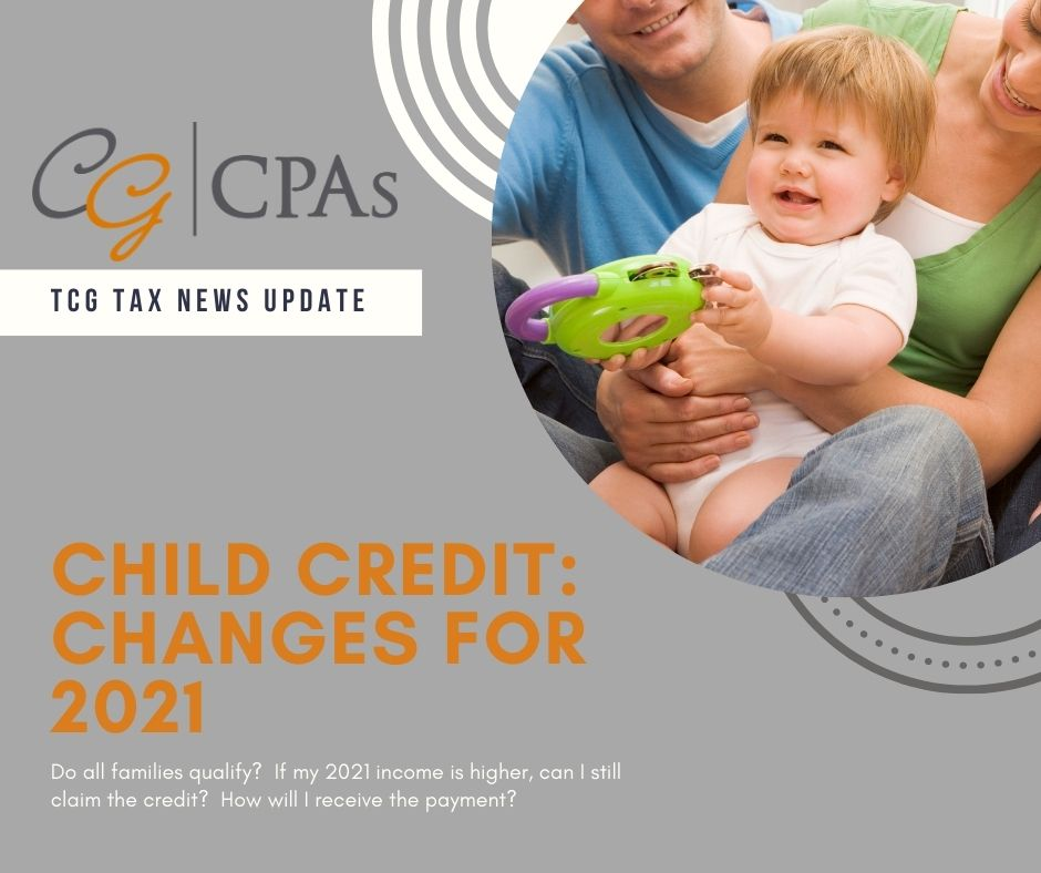 Changes to the 2021 Child Tax Credit